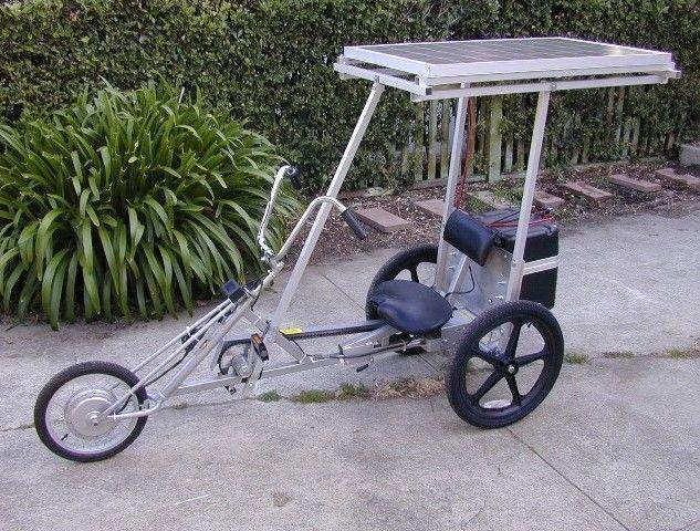 Delta Trike on Driveway